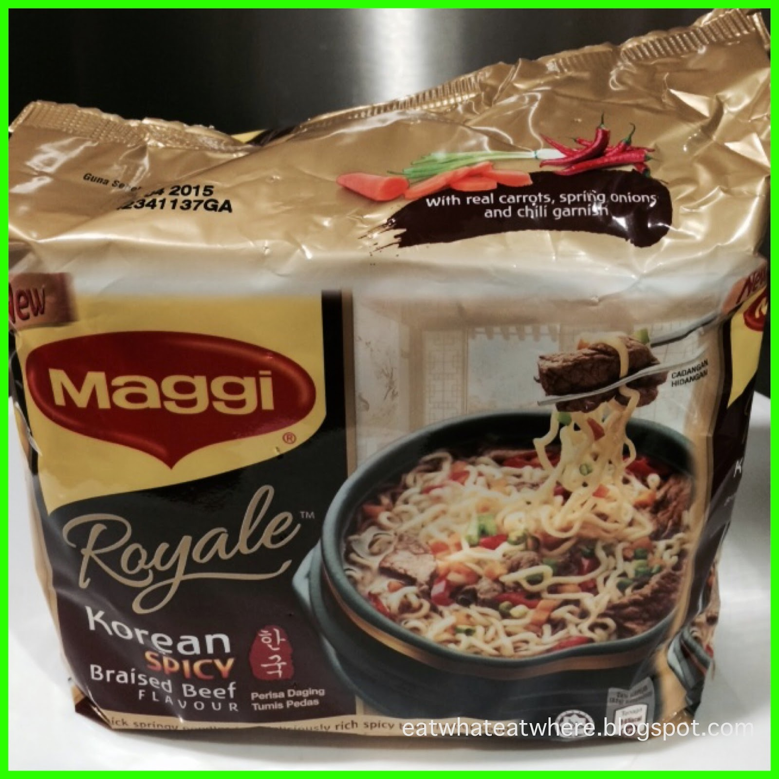 Cuisine Royale Eat Eat What Eat Where Ewew Tries Maggi Royale Korean Spicy